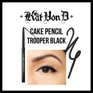 kat von d cake pencil eyeliner new in box